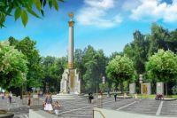 Стела высотой 20 метров появится в Калининском районе Новосибирска.