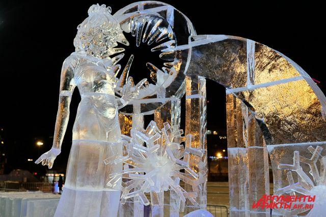 Может ограничен вход на выставку ледовых скульптур на городской эспланаде.