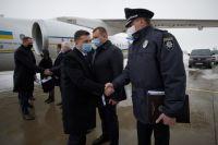 Пожар в харьковском доме престарелых: Зеленский прибыл на место трагедии
