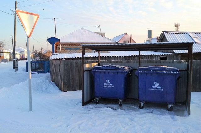 В Тюменской области из-за мороза могут скорректировать график вывоза мусора