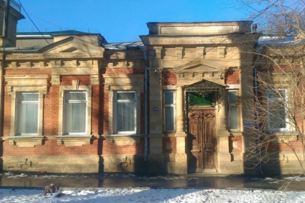 Дом архитектора Кускова, где он жил до 1920 года.