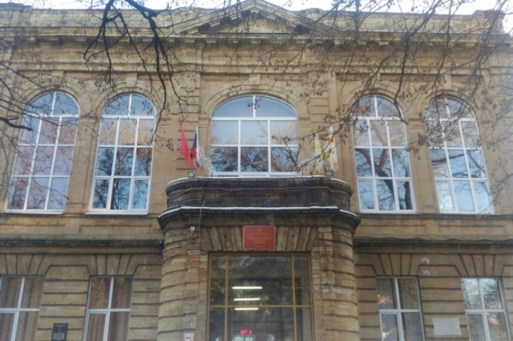 Женская гимназия, ныне СОШ №3.
