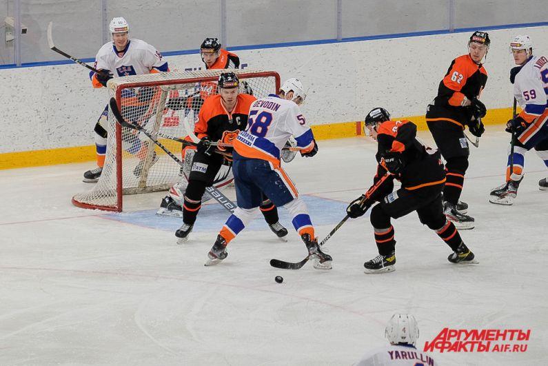 Домашний матч «Молот-Прикамье» - «СКА-Нева» в Перми.