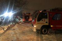 Огонь охватил два жилых дома на улице Костонаева