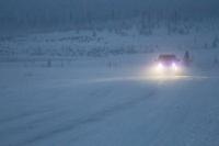 Блогер Сергей Сайман из-за морозов завершил автопутешествие по Ямалу