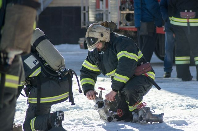На тушение пожара ушло 20 минут.