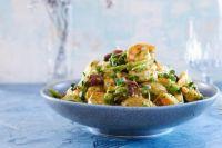 Картофельный салат с креветками и маслинами: рецепт аппетитного салата