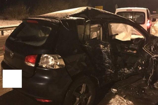 В Черняховском районе произошла авария с пятью пострадавшими