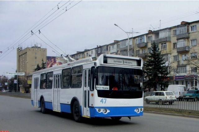 Мэрия Черкесска хочет получить 10 современных троллейбусов по нацпроекту