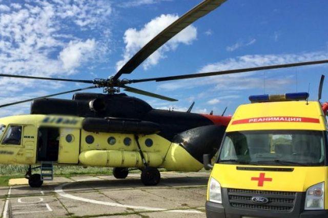 На территории тюменской больницы состоится пробная посадка вертолета