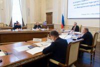Губернатору Андрею Травникову доложили, на каком этапе находятся строительные работы.