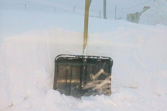 Оренбуржцы в соцсетях жалуются на чистку дворов от снега и бурно обсуждают свежую памятку мэрии о сосульках.