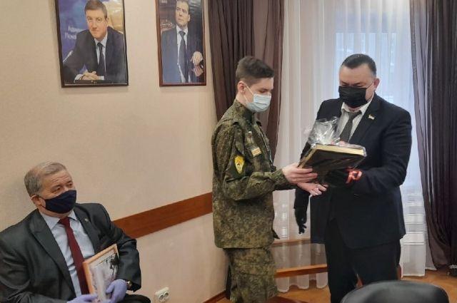 Владимир Хорев почти 6 лет участвует в поисковом движении