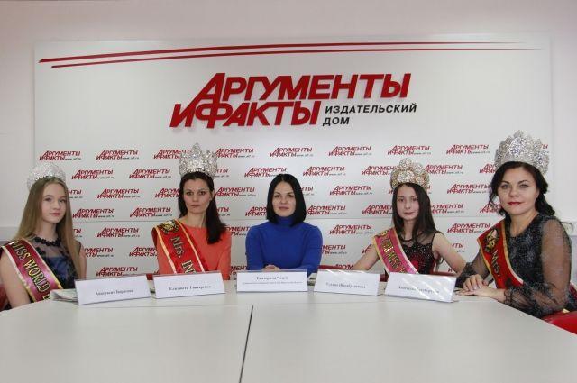 Анастасия Борисова, Елизавета Гонтаренко, Екатерина Чопей, Ульяна Шигабутдинова и Анастасия Бессмертная.
