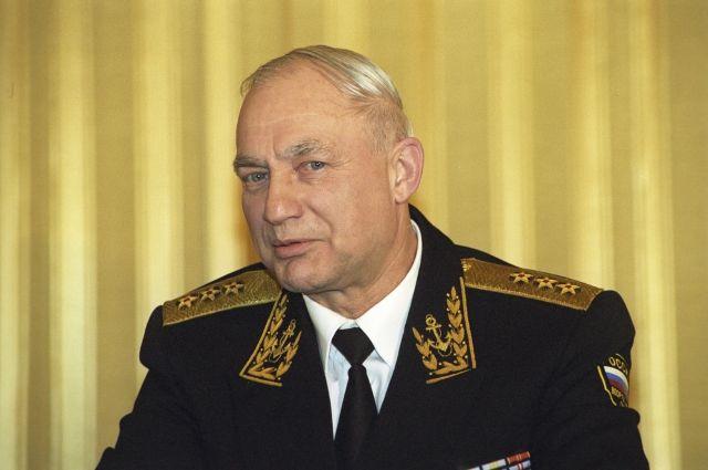 Главнокомандующего ВМФ Феликса Громова похоронили на кладбище в Мытищах