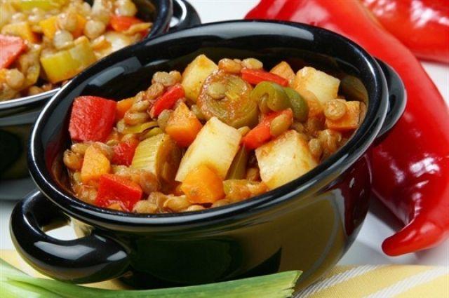 Овощное рагу с курицей: рецепт вкусного и ароматного блюда
