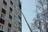 В пожаре в Казани на ул. Боевая никто не погиб, но жить в квартире после ЧП нельзя.