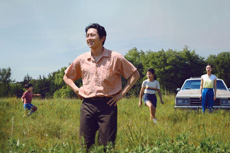 «Минари». Семья корейских иммигрантов с двумя детьми переезжает из Калифорнии в Арканзас.