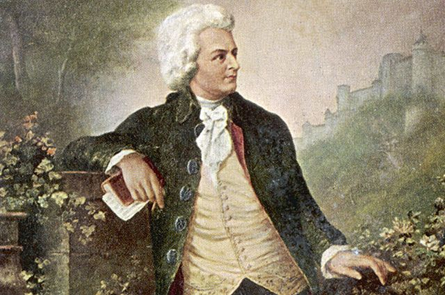 Моцарт.