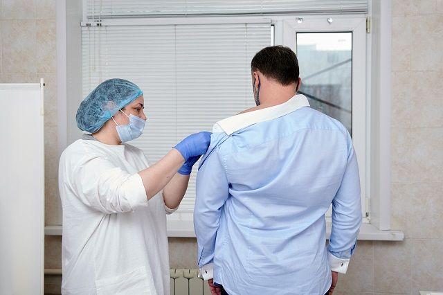 Вакцинация от COVID-19.