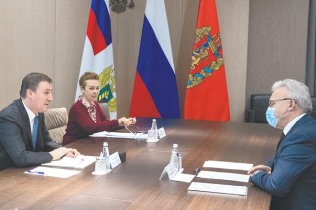 В Москве обсудили актуальные вопросы Красноярского края.