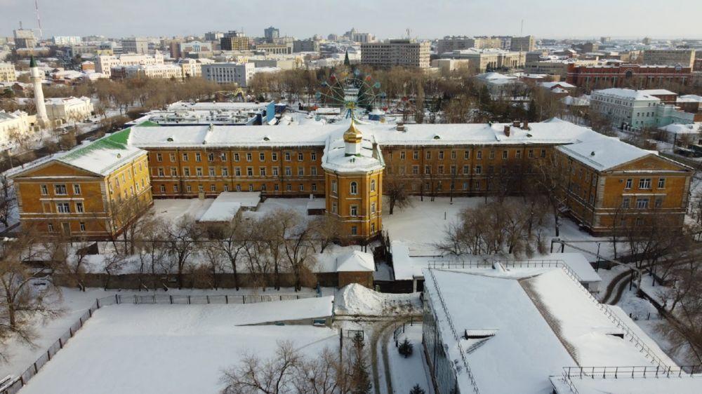 Неплюевский кадетский корпус, проспект Парковый.