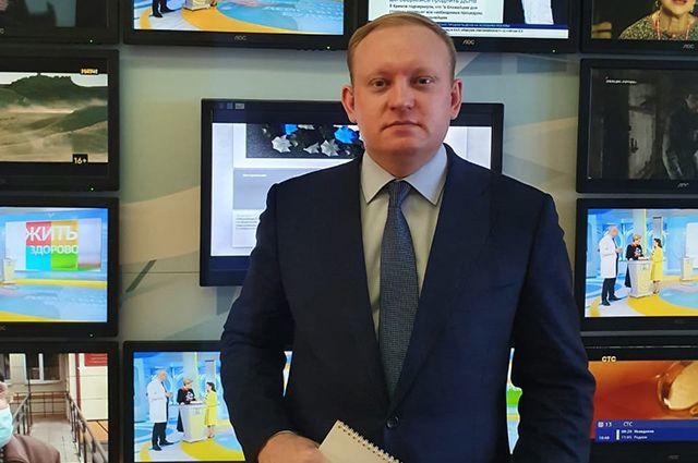 Генеральный директор «Сибирской медиагруппы» Андрей Абрамов