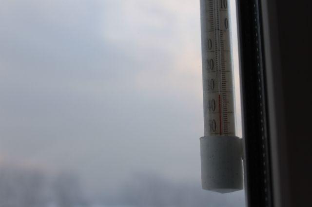 На днях в регионе стояли морозы, температура опускалась ниже 35°С.