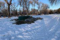 Благоустройство парка в Оренбурге завершили к концу ноября 2020 года.