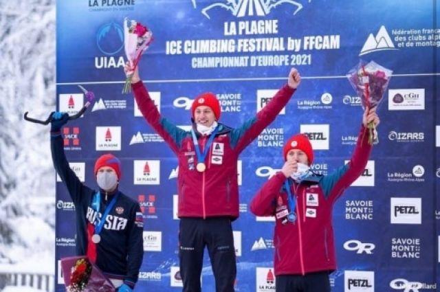 Спортсмен из Тюмени стал серебряным призером Чемпионата Европы