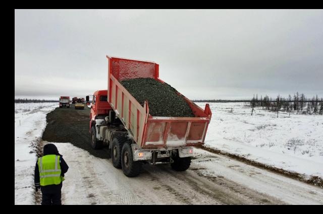 На Ямале в рамках нацпроекта отремонтируют 42 километра дорог