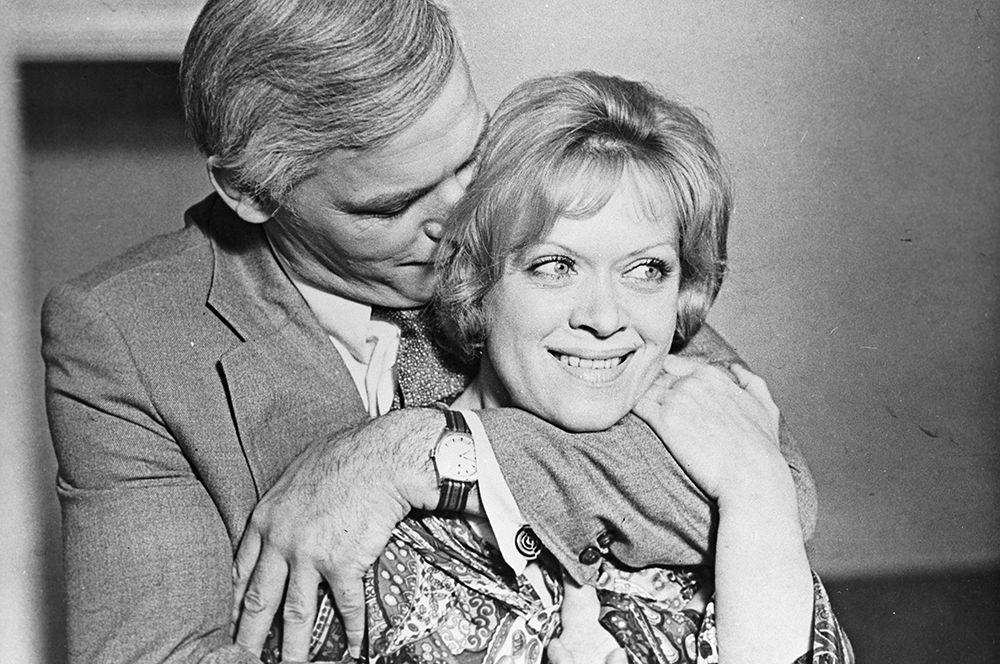 Алиса Фрейндлих и Василий Лановой в фильме «Анна и командор», 1974 год.