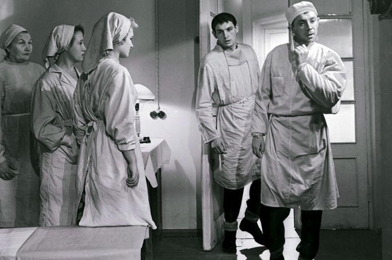 Василий Лановой в фильме «Коллеги», 1962 год.