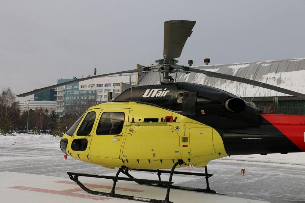 Открытие вертолетной площадки на территории ОКБ №2, Тюмень, 2021.
