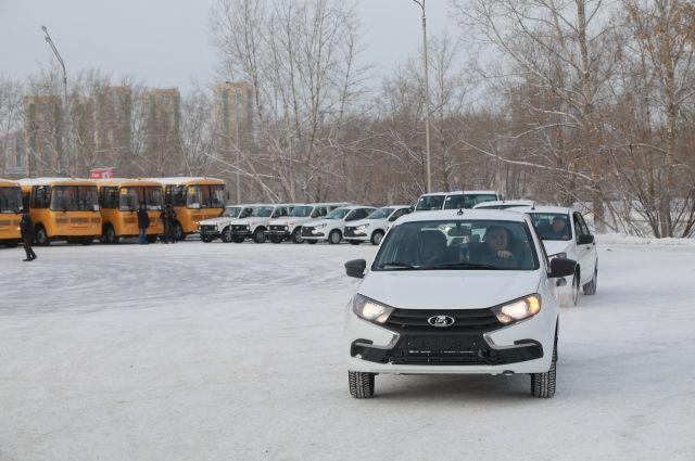Автомобили отправились в 33 муниципальных образования края.