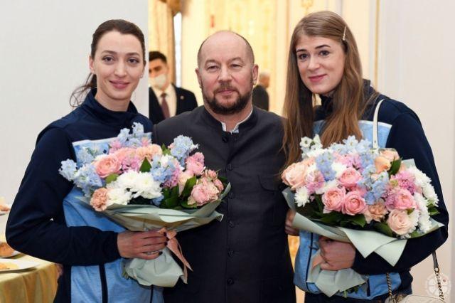Волейболистки «Динамо» выиграли в прошлом году три трофея