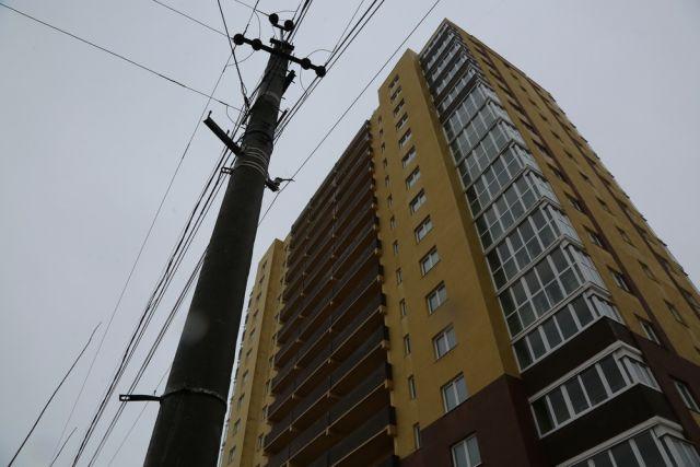 Тот самый дом, в котором дольщики обнаружили недоделки в новых квартирах.