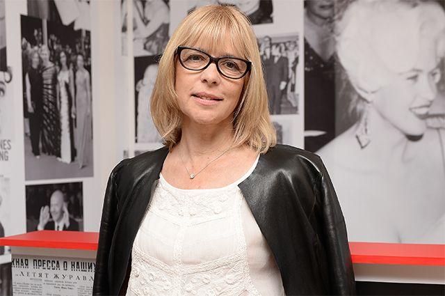 Режиссер и актриса Вера Глаголева.