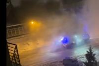 По информации пресс-службы ГУ МЧС по Новосибирской области, полностью пожар потушили за полчаса