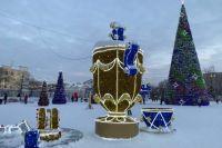 В Оренбурге 30 января станет последним днем работы новогоднего городка.