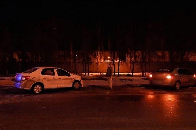 На улице Пушкина вечером 30 января столкнулись два автомобиля.
