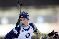 Сборная Украины заняла третье место в эстафете по биатлону.