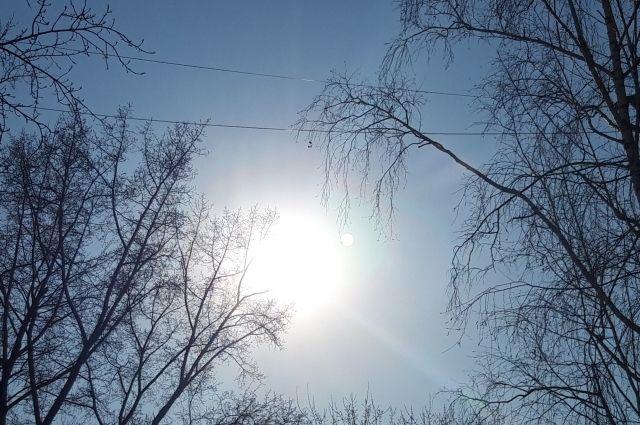 В воскресенье ожидается уже повышение температуры до плюса.