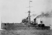 Линкор «Дредноут» в 1906 г.