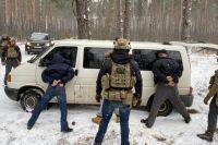 В Киеве задержали мужчин, которые занимались торговлей оружием