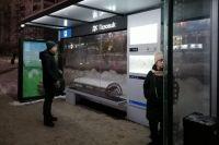 """К 2023 году в Новосибирске планируют установить 250 """"умных остановок""""."""