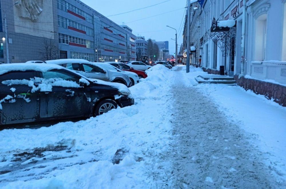 Перекресток улиц Карла Маркса и Коммунистической.