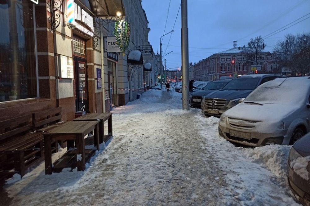 Улица Карла Маркса.