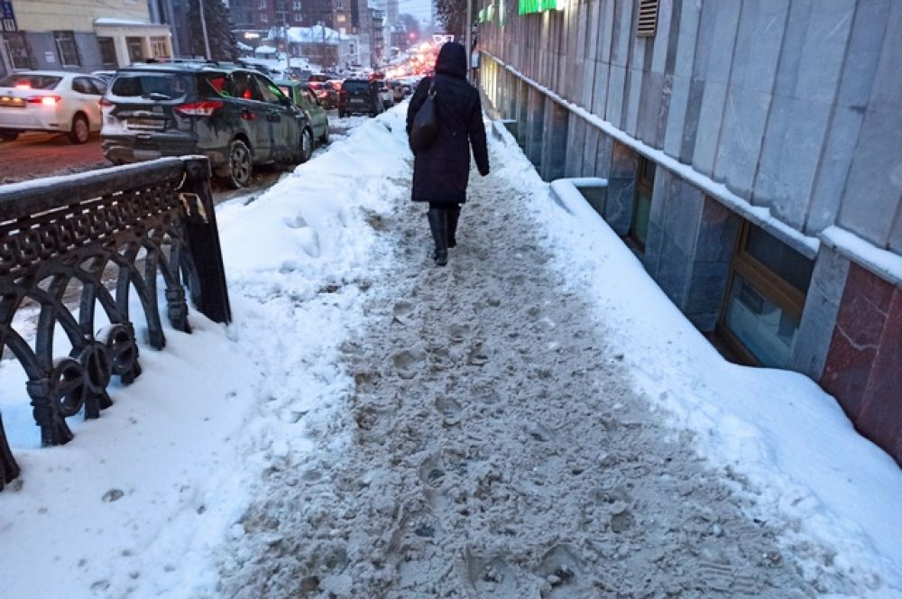 Улица Коммунистическая ниже Ленина.