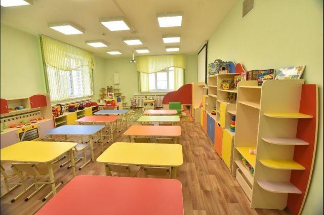 Детский сад построили по нацпроекту.